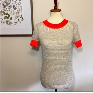 Anthropologie Moth Crop Sweater Size Small